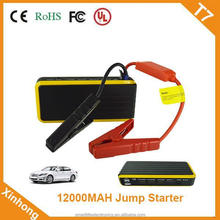 ce fcc rohs approved 44.4WH 12V 400A portable car jump start battery pack cycle life 1000 times