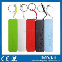 Portable 2600mAh Perfume Mini Power Bank for Promotion