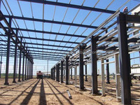 light metal prefabricated steel structure building