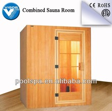 Lovely steam room for home use /sauna and dry steam combined room