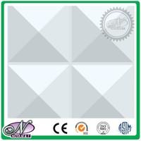 Pure white latest design 3d recycle mdf board