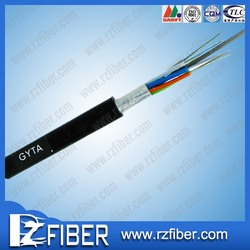 China wholesale T/S 1000 gyta- duct outdoor stranded loose tube single mode 24 core optical fiber cable