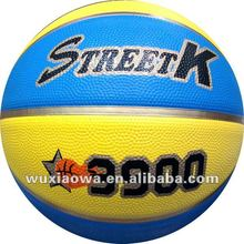 High quality rubber basketball/ sporting goods market size / official weight basketball(FRB025)