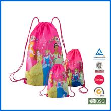 190T Polyester Printed Drawstring Bag
