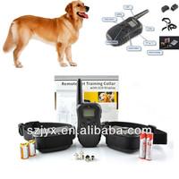 Hot Sale 4 in1 Anti-Bark Remote Static Shock Pet Dog Training Collar 300M