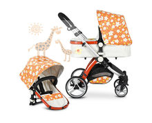 Baby Product And Baby Stroller 3 IN 1 With EN1888 Certification Purple Baby Stroller