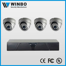 New design AHD DVR Kit CCTV System