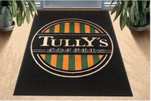 Custom Printed Nylon Indoor Carpet Logo Mat with Rubber Backing