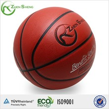 Zhensheng Polyurethane PU Exercise Basketballs Played on Plastic or Wood Floor