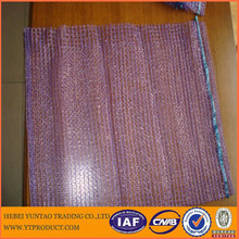 High Quality HDPE raschel mesh Bag For Vegetable/Fruit/Firewood