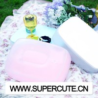 Multipurpose portable ABS&PVC White color rectangular shape inflatable wedge pillow