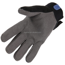 Daily Life red winter leather work gloves