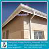 3m Length Aluminum Straight Extrusion Gutter For Roof Drainage