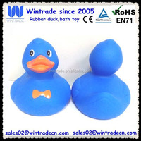 Funny Kids Toy Weighted PVC Plastic Ducks with Printing Logo