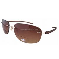 Patented Sun Readers Rimless Bifocal Sunglasses,Cheap Bifocal sunglasses whosesale China