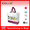 Fashion shopping bag on sale, durable bag ,pp woven bag
