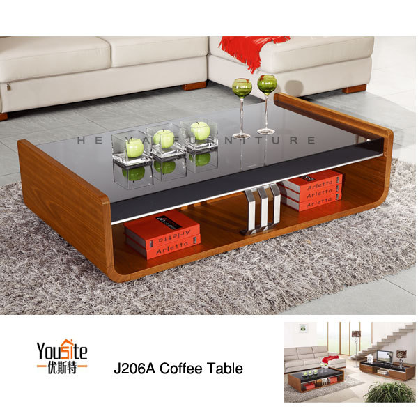 Foshan living room furniture wooden center table design for Latest center table design