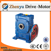 High Torque Industrial WPWDKA cast iron shaft mounted speed reducer Hollow Shaft for lifting machinery worm gearbox