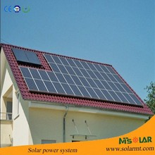High efficiency low price home use off grid 3000w solar power system