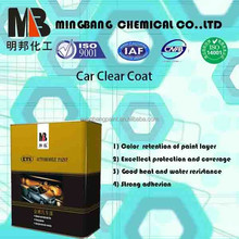 High performance 2k acrylic auto clear coating