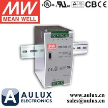 DR-120-12 Meanwell Power Supply 120W 12V Single Output Industrial DIN Rail Power Supply UL Approved