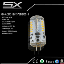Dimmable g4 led bulb 12v 1.5w smd mini spot on sale