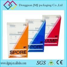2015 popular disposable PVC PET PP cigarette box folding/transparent plastic gift box