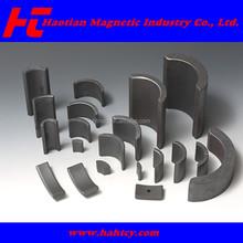 Segment arc magnets high performance ferrite magnets