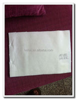 water soluble and raw white nonwoven fabric