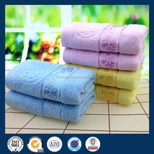 Luxury Cotton Satin Terry Mushroom Dobby Border Best face Towels