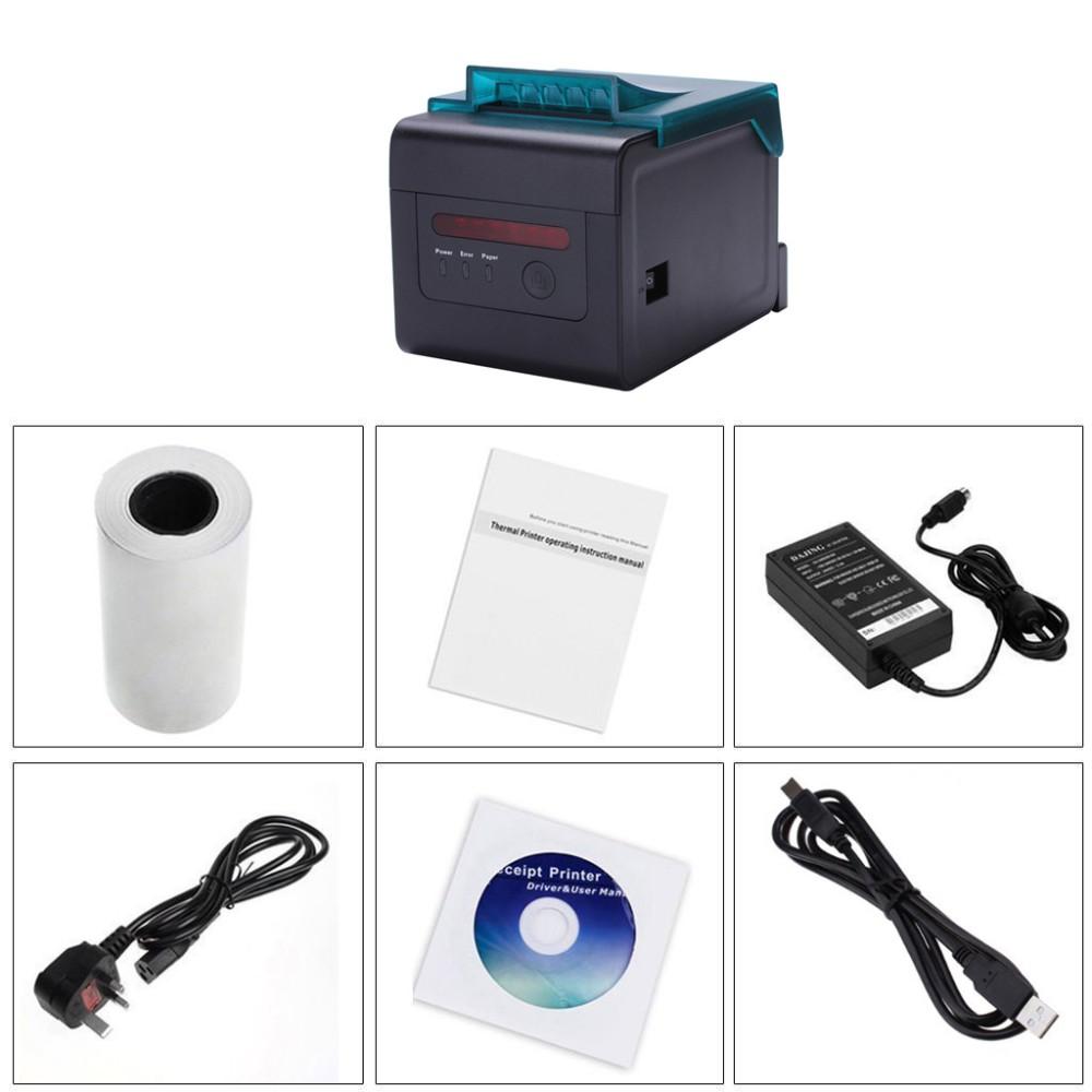 80 мм WI-FI билет тепловая билл принтер кухня с auto cut