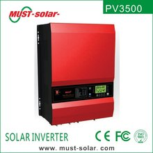 <Must Solar> NEW ! PV3500 series low frequency pure sine wave big capacity emergency power supply 220v/48v/12kw solar inverter
