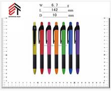 simple nice design promotional advertising plastic ball pen