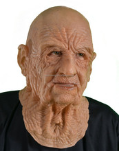 Creepy old man Halloween party mask(HM-112)