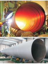 ASTM/ISO/ERW spiral welded steel pipe best quality