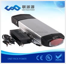 deep cycle lithium ion ebike battery 36v 10ah li ion battery+charger