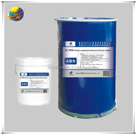 high performance two-component insulating glass silicone sealant for sealing and bonding