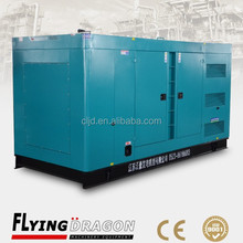 Backup power supply diesel silent electricity generator with Volvo engine 350kw low noise power plant
