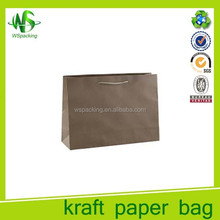 Cheap and high quality kraft carrying bags customed popular style