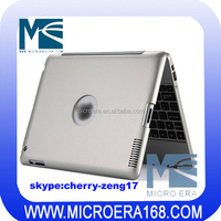 Multimedia Wireless Bluetooth Keyboard With Case For iPad 2 3 4, 4000mAh Chargeable Battery