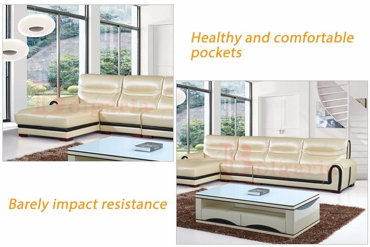 Oriente medio estilo muebles de sala sofá de cuero moderno hecho ...