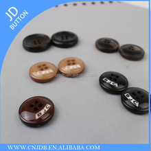 Factory wholesale custom made suit aminate real horn buttons