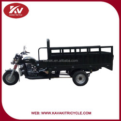 Army green water cooling engine Cargo Tricycle for Farm
