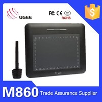 Drawing board Ugee M860 8x6 inches usb interface 2048 levels writing tablet for students