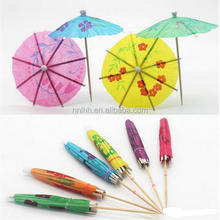 Cocktail Paper Umbrella Parasol Picks