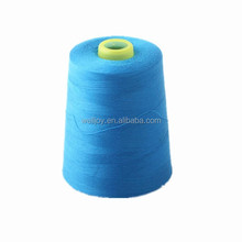 20s 40s 50s 60s Dyed 100% cone Polyester Sewing Thread for kid clothes, core spun polyester sewing thread