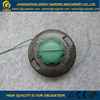 PA6+30%GF Nylon Grass Trimmer Head Spare Parts For Brush Cutter