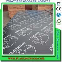 film faced plywood for concrete form use/concrete panel/construction material