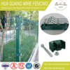 PVC coated wire mesh fencing with plastic clamp - 20 years factory in fence business, get BV certificate