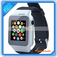 "1.54"" Inch Silver MTK6260128+128MB 0.3MP Watch Cellphone"